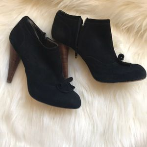 for all 7 mankind suede booties